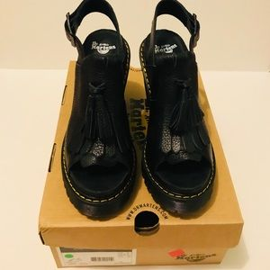 NWT 🔥 Dr. Martens Seraphina Black, size 8